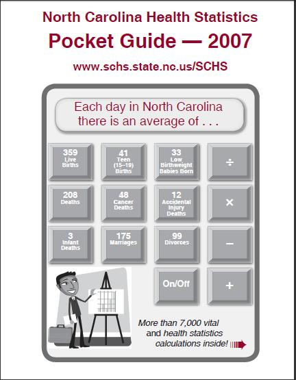 North Carolina Health Statistics Pocket Guide - Published by the State Center for Health Statistics