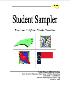 Student Sampler: Facts in Brief on North Carolina